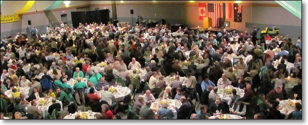 These are the attendees at one of the previous banquets